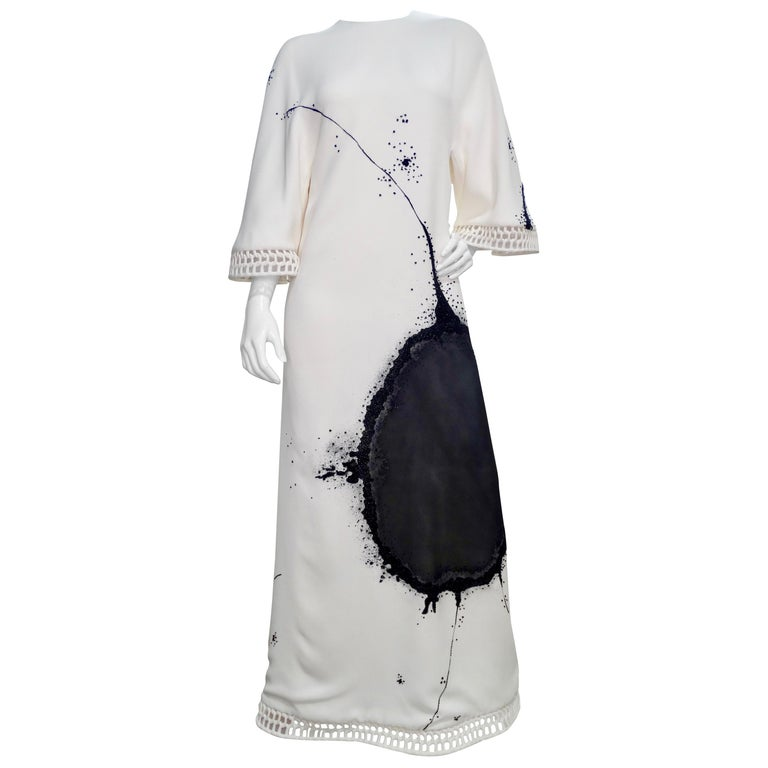 Chado Ralph Rucci Custom Made White Dress