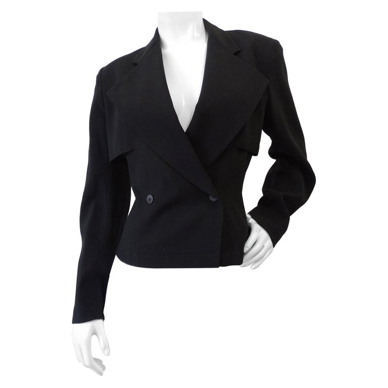 Alaia Double Breasted Wool Blazer