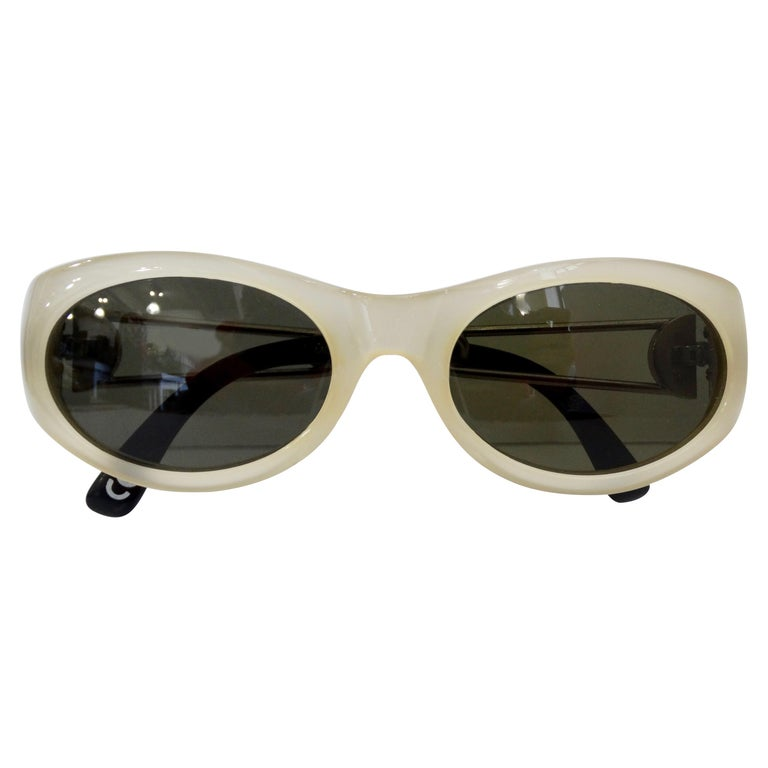 Vintage Gianni Versace Safety Pin Sunglasses Mod 427 Col 279