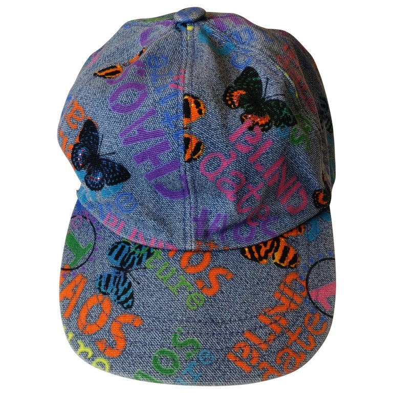 "Versace ""Chaos"" Blind Date Denim Hat"