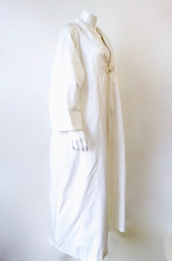 Vintage White Oversized Opera Coat