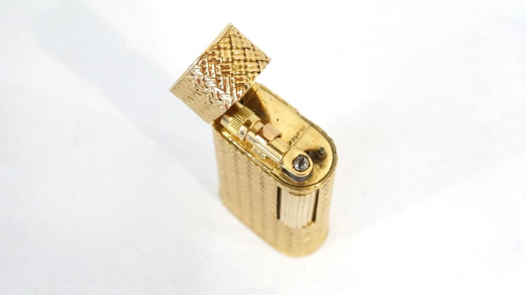 Van Cleef & Arpels 18K Gold Lighter