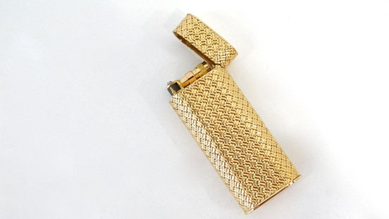 Rare 1970s Van Cleef & Arpels 18K Gold Lighter