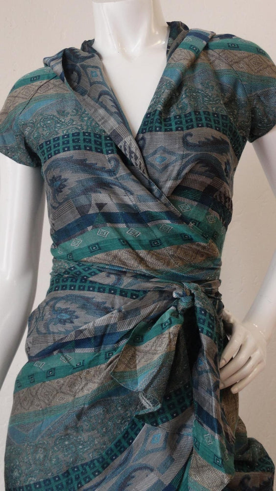 1980s Bernard Perris Ethnic Patterned Two Piece