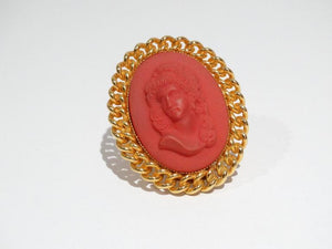 1970s William de Lillo Cameo Ring