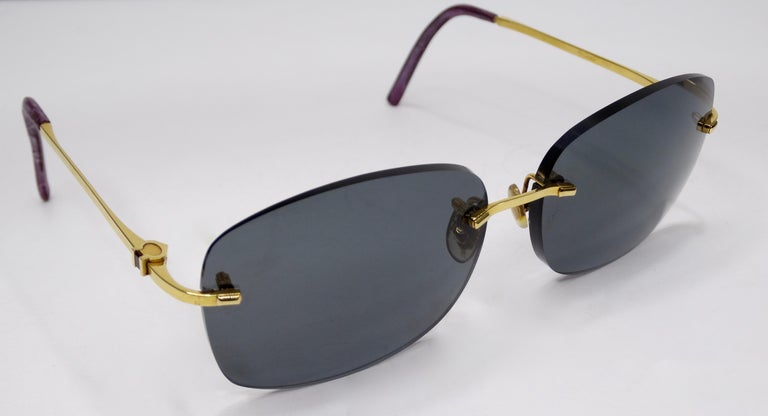 Prada Oversized Deep Maroon Shield Sunglasses