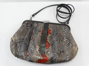 Rare 1980s Fendi Snakeskin Crossbody Bag