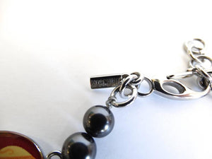 2000s Moschino Holy Charm Bracelet Watch
