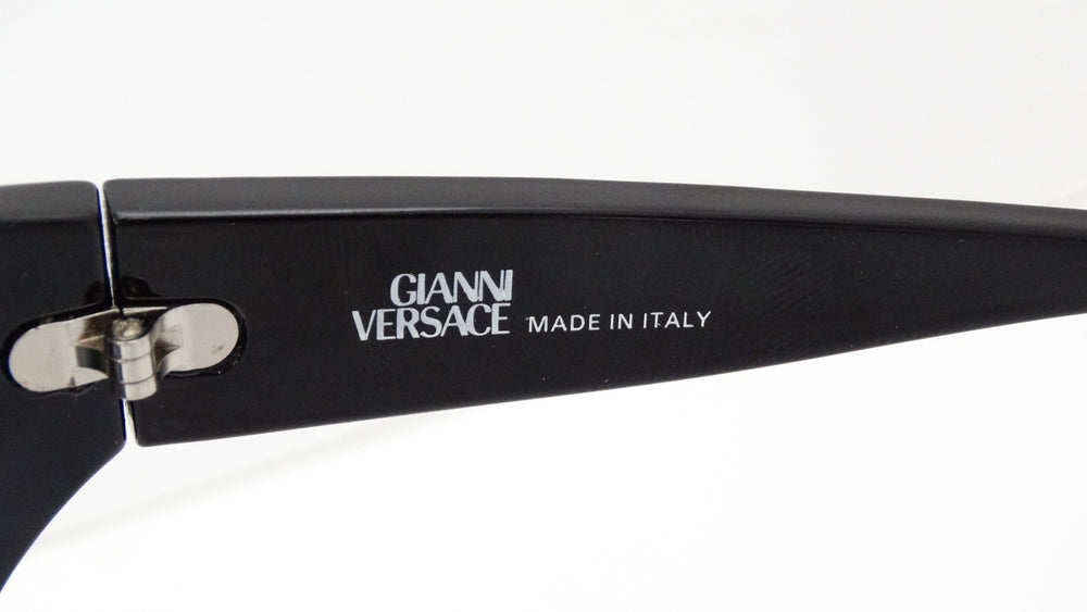 Gianni Versace Studded Wrap Sunglasses