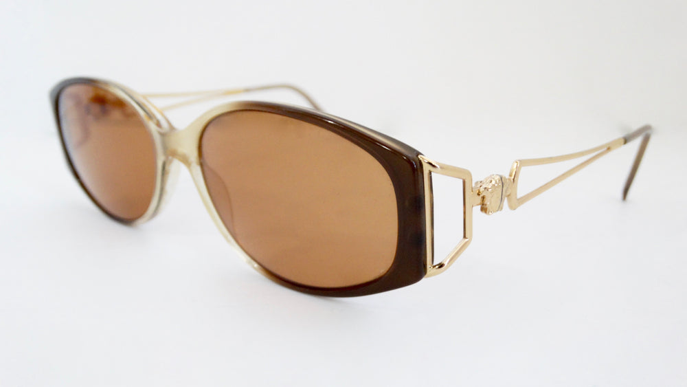 Gianni Versace Gradient Frame Sunglasses