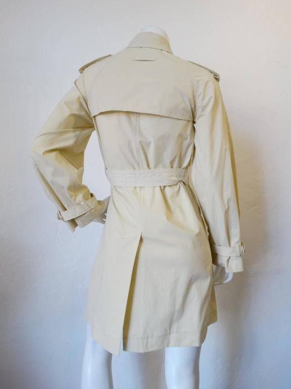 1990s Jean Paul Gaultier Mini Trench Coat