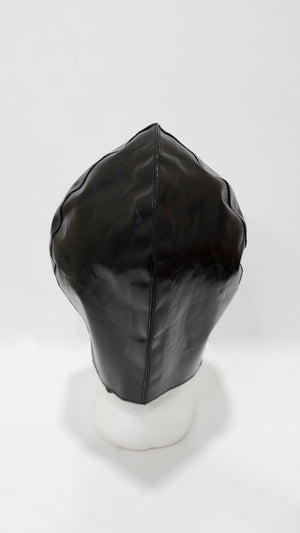 Tom Ford for YSL Black Leather Flight Cap