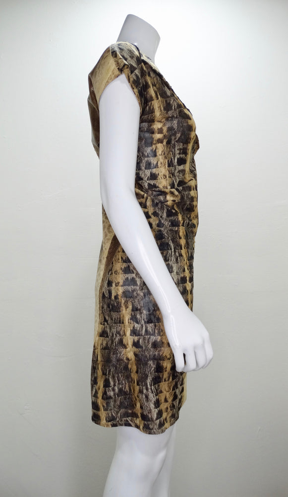 Fendi Python Mesh Dress