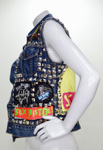 Levi's Studded Sex Pistols Denim Vest