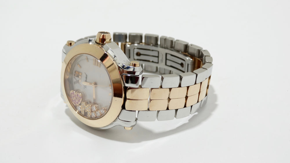 Chopard Happy Diamond Sport 18kt Rose Gold Watch