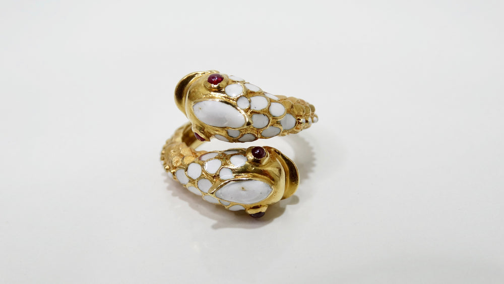 Tiffany & Co. Koi Fish 18k Gold Ring