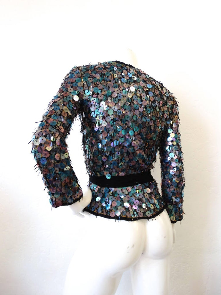 Missoni Iridescent Sequin Jacket