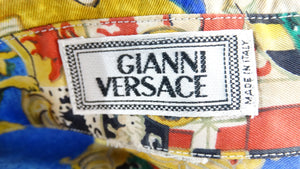 Gianni Versace 1990s Coat of Arms Shirt