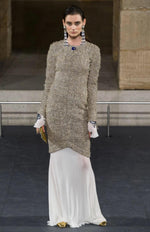 Chanel Pre-Fall Scarab Beetle Tweed Dress