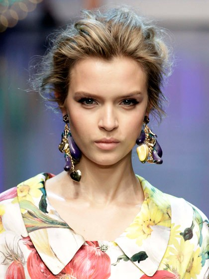 Spring 2012 Dolce & Gabbana Clip On Earrings