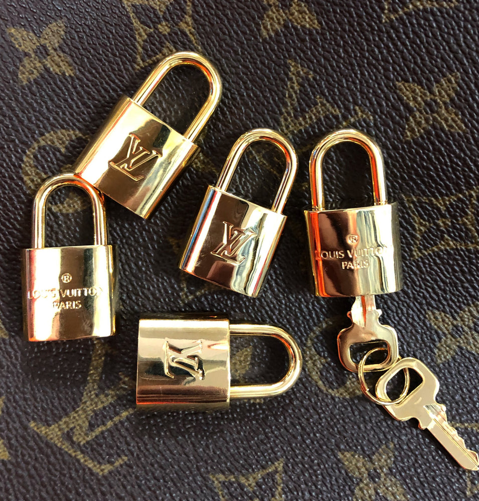 Vintage Louis Vuitton Lock and Key