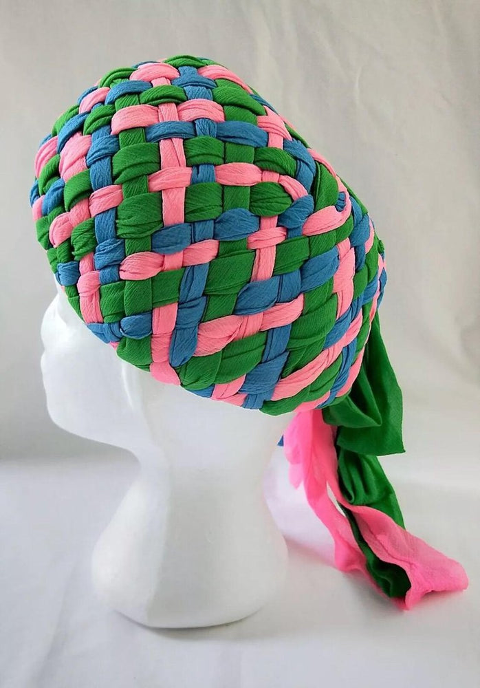 Stunning 1960's Mr Individual Melbourne Turban Hat