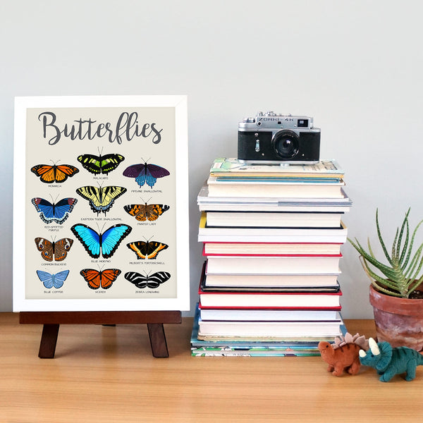 butterfly poster 4 - telegraph paper co