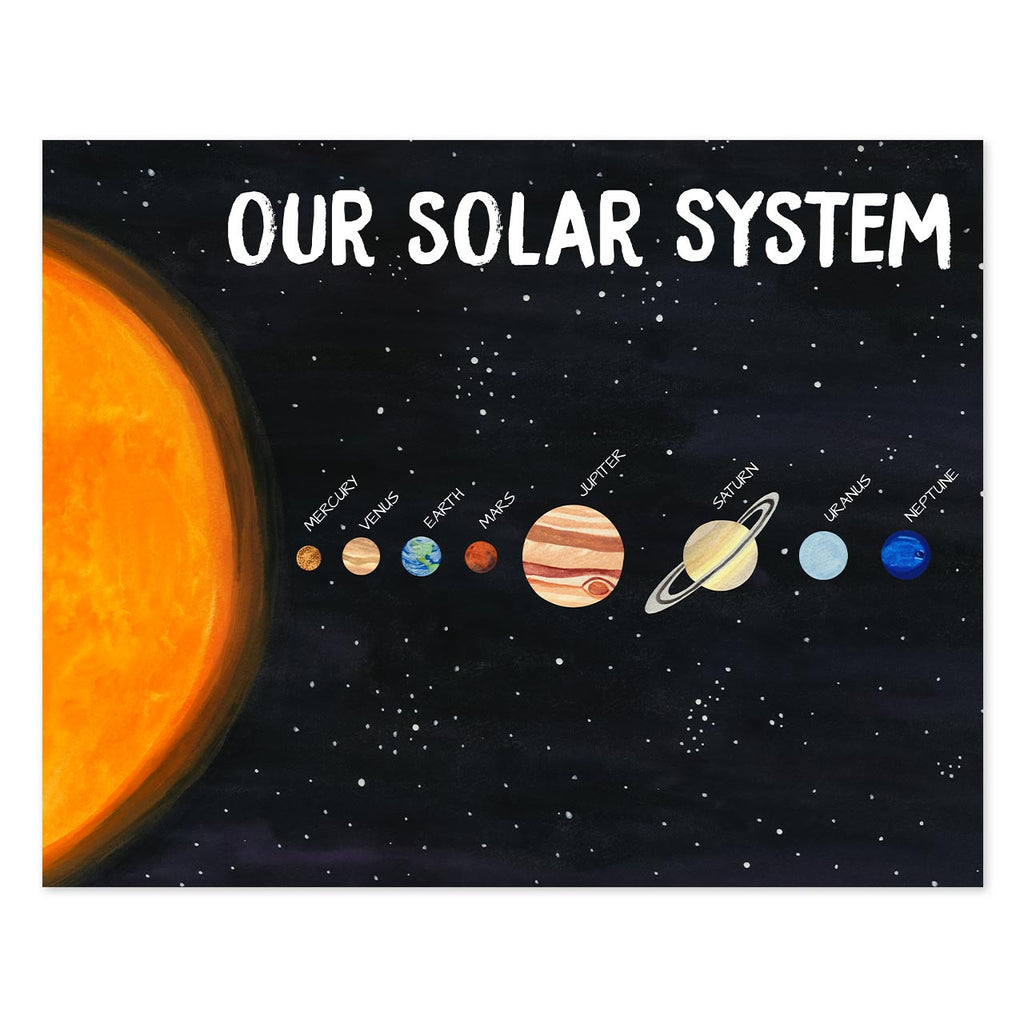 planet poster - telegraph paper co