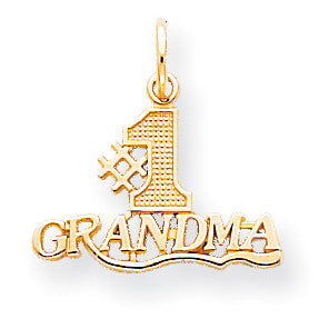 10k #1 Grandma Charm 10C119 - shirin-diamonds