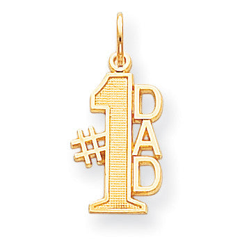 10k #1 DAD CHARM 10C450 - shirin-diamonds