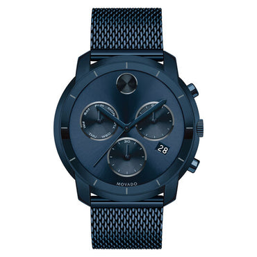 MOVADO Bold Chronograph Blue Dial Men's Watch 3600403 - shirin-diamonds