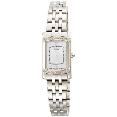 Citizen Women's EG3120-52D Eco-Drive Stiletto Diamond Accented Watch