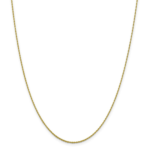 Leslie 10K 1.2 mm Loose Rope Chain Chain 5186-24