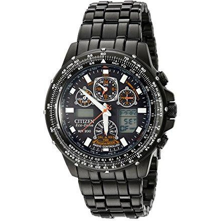 "Citizen Men's JY0005-50E ""Eco-Drive Skyhawk A-T"" Stainless Steel Watch"