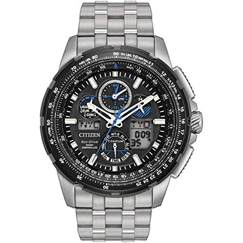 Citizen Men's Limited Edition Promaster Skyhawk A-T Super Titanium Silver Watch
