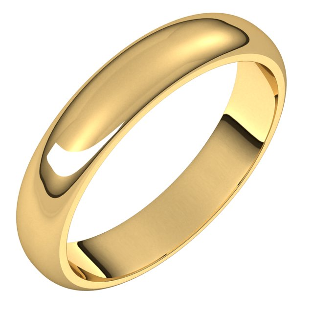 Plain Wedding Bands 4mm at Wholesale Price