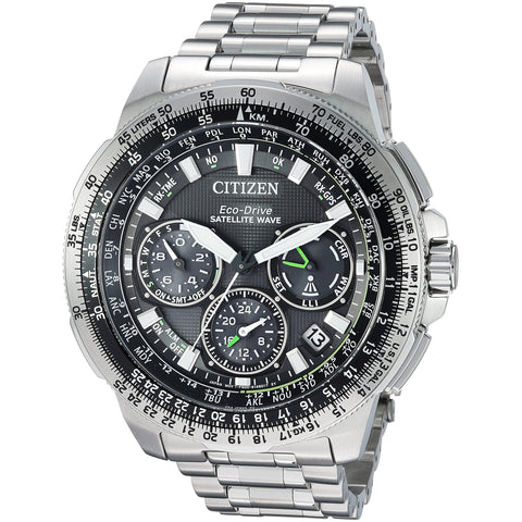 Citizen Men's Eco-Drive Promaster Navihawk Satelitte GPS Watch with Day/Date, CC9030-51E