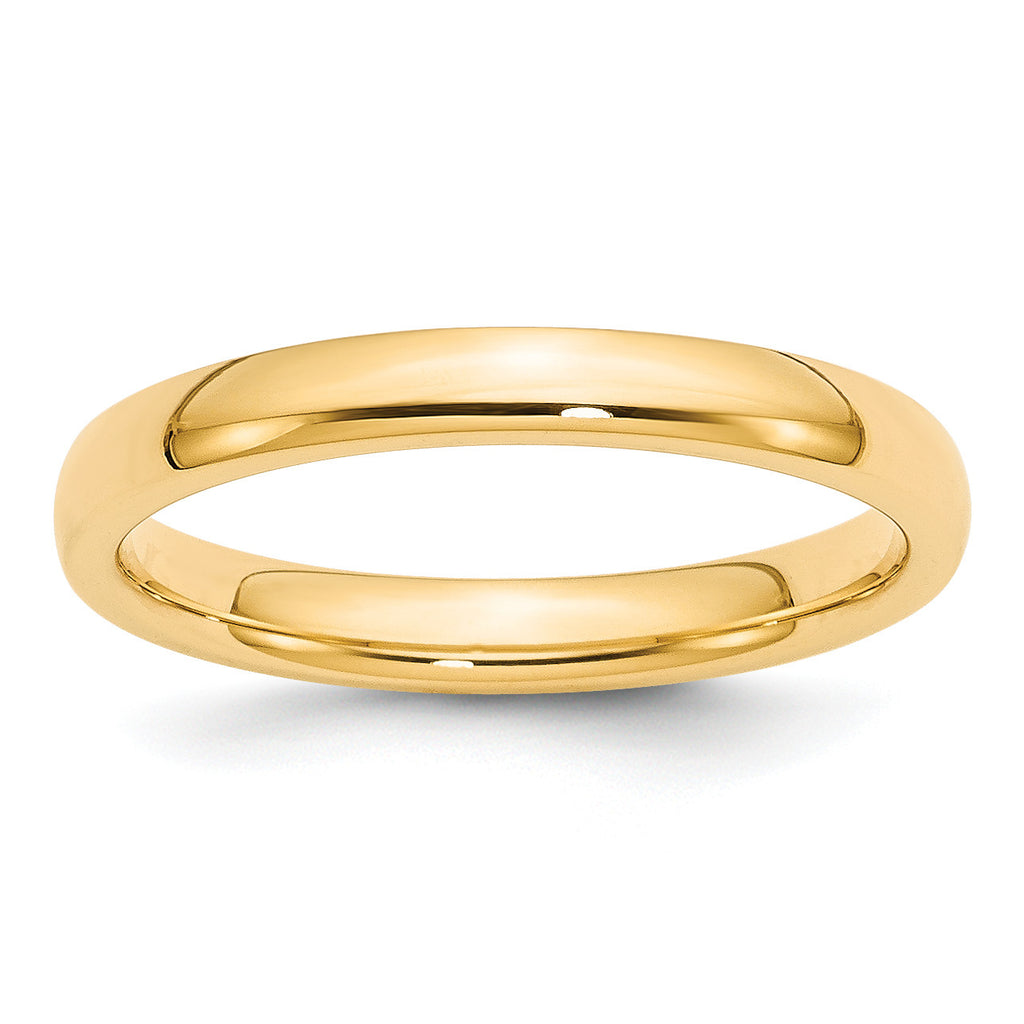14k 3mm Comfort-Fit Band CF030