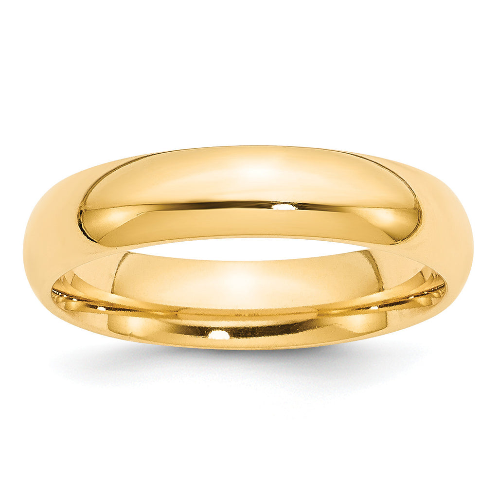 14k 5mm Comfort-Fit Band CF050