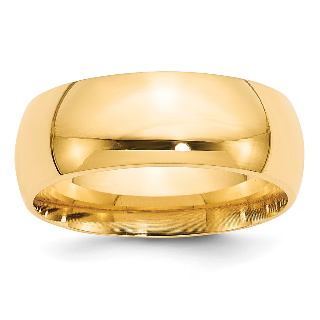 14k 8mm Comfort-Fit Band CF080