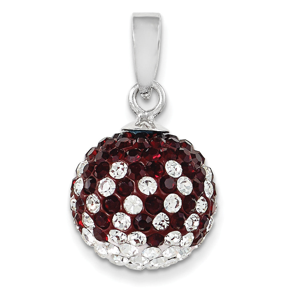 Swarovski Elements Mississippi State U Ball Pendant CP6012-48 - shirin-diamonds