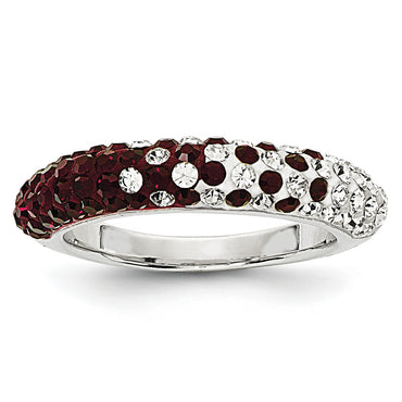 Swarovski Elements Mississippi State U Domed Ring CR0028 - shirin-diamonds