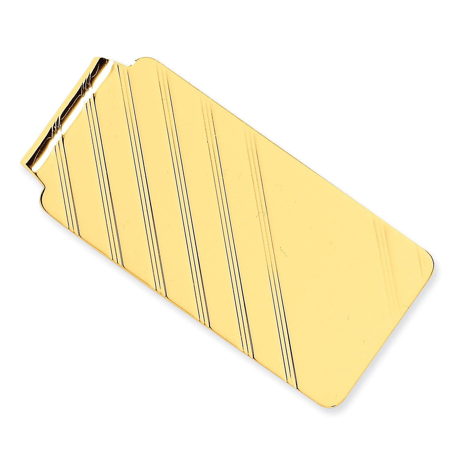 14k Money Clip MC10 (18.3 Grams) - shirin-diamonds