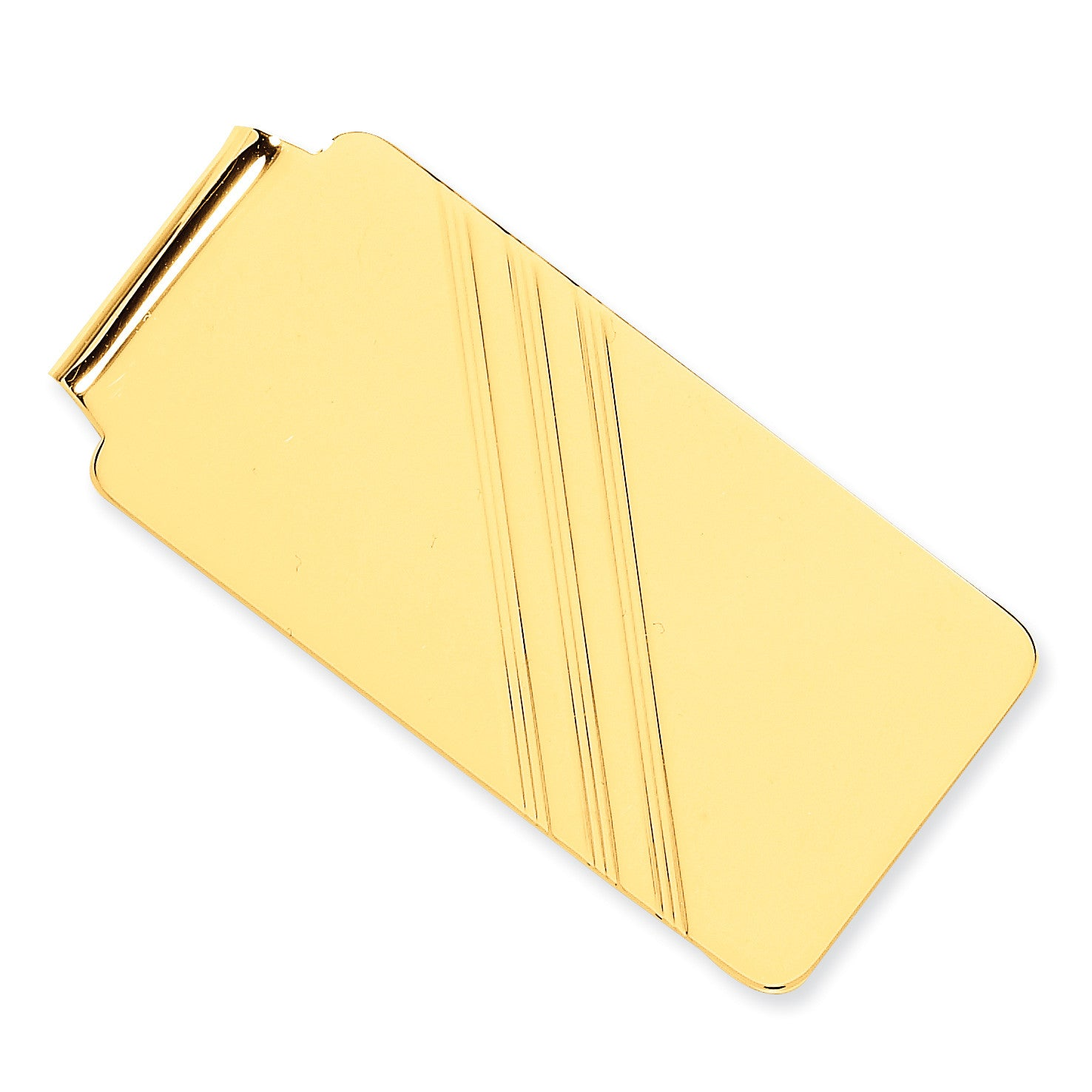 14k Money Clip MC20 (18.15 Grams) - shirin-diamonds