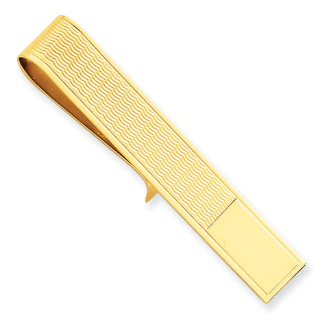 14k Tie Bar MC80 (3.1 Grams) - shirin-diamonds