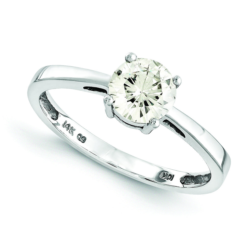 14k Moissanite Ring MTR174