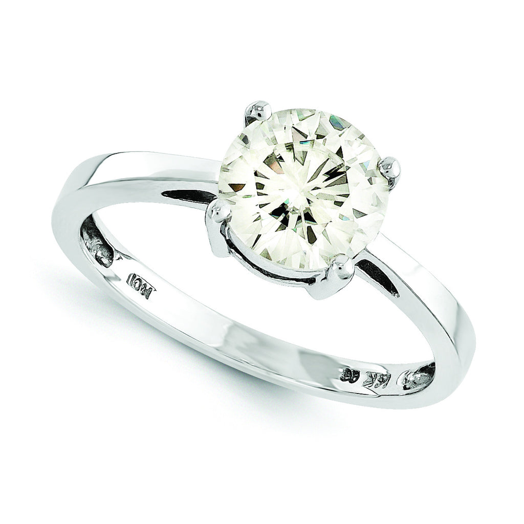 14k Moissanite Ring MTR176