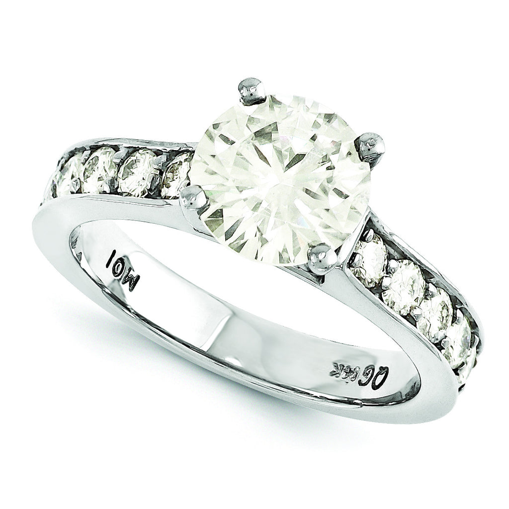 14k Moissanite Ring MTR224E