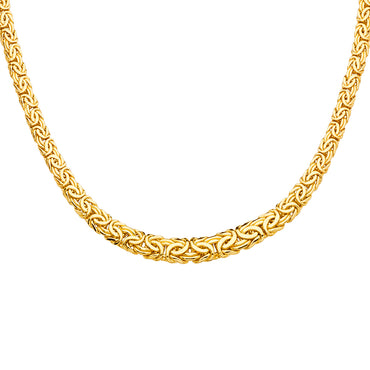 "14kt Yellow Gold Designer Chain/Necklace 18"" with 22.8 Grams"