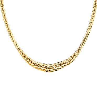 "14kt Yellow Gold Cuban Link Chain/Necklace 18"" with 20.6 Grams"